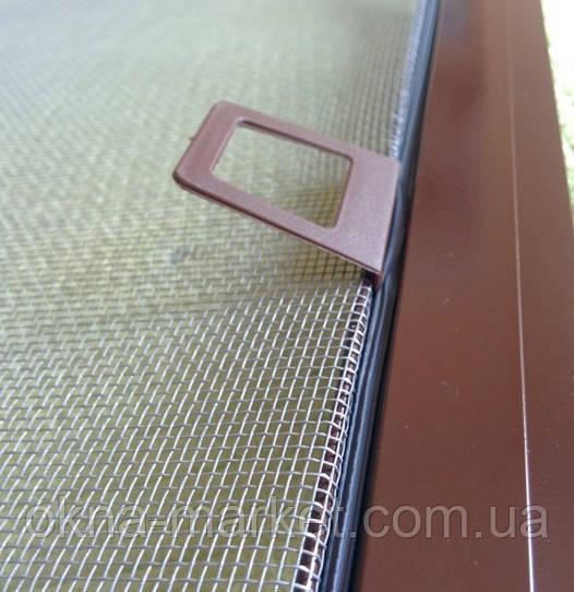Антимоскитная сетка коричневая заказать Хотов