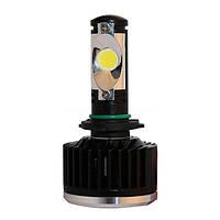 LED лампы 2шт, 3-ое поколение. H1, H3, H7, H8, H9...