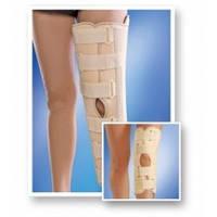 Бандаж на коленный сустав с ребрами жесткости с усиленной фиксацией (Тутор), 6112, люкс