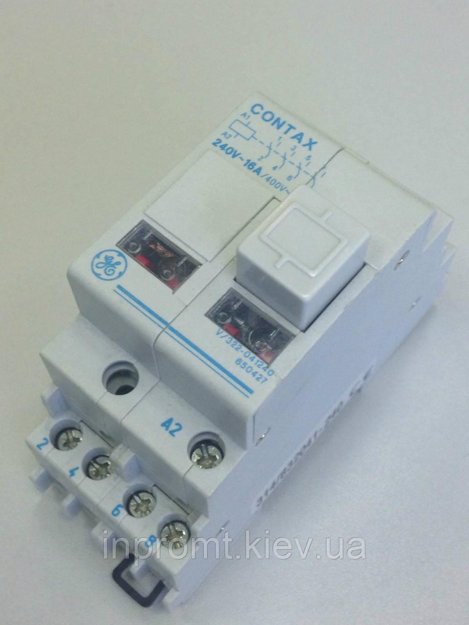 Промежуточное реле CONTAX V/322-041 240