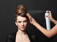 Как правильно выбрать профессиональный лак для волос