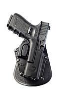 Кобура Fobus для Glock 17, Glock 19 с поясным фиксатором, замок на скобе
