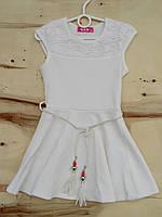 Платье для девочки. Размеры:  110, 122.