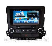 Магнитола CITROEN C-CROSSER, PEUGEOT 4007, Mitsubishi Outlander/XL. Kaier KR-8007. Android 4Q