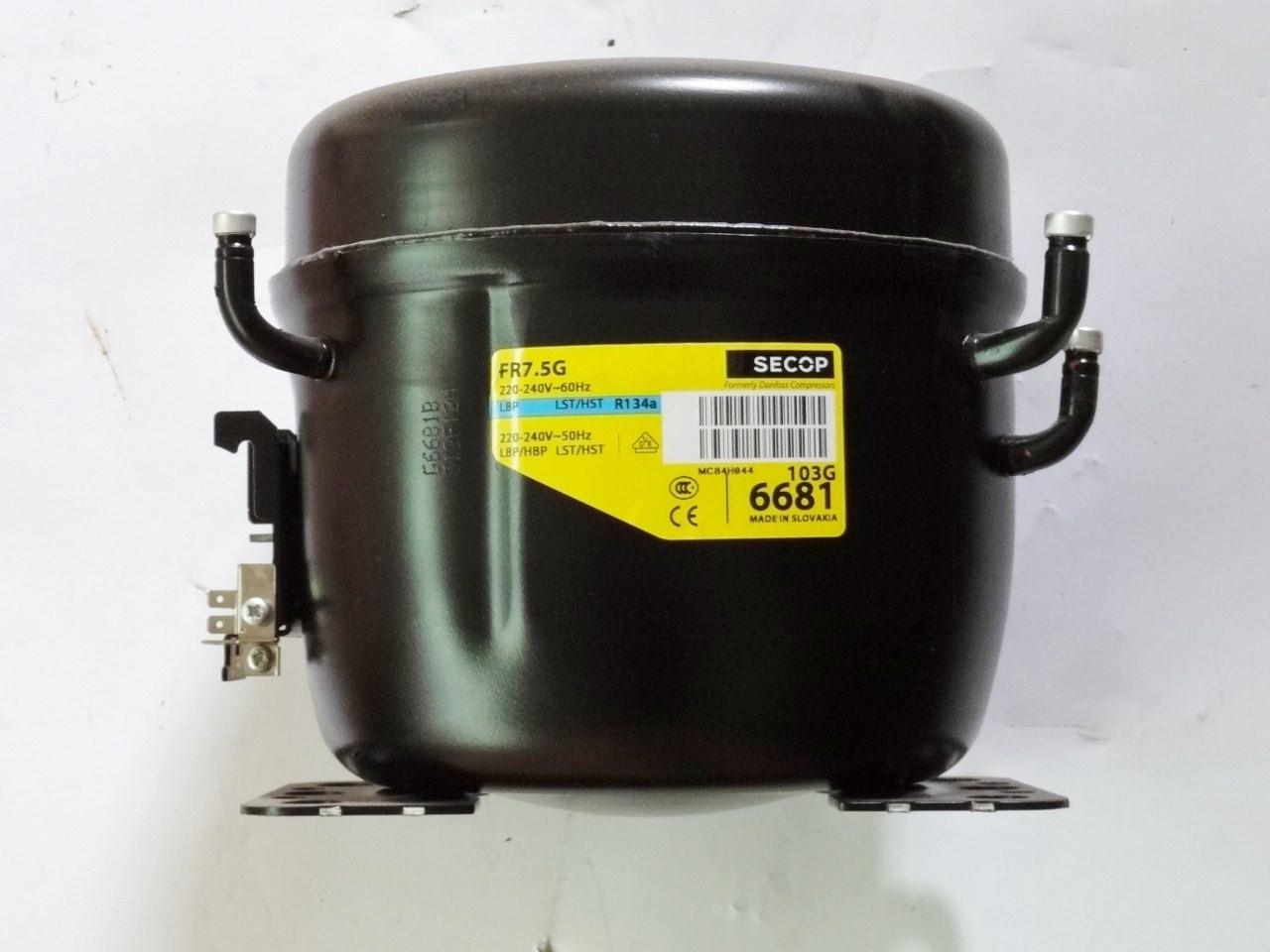 Компрессор холодильный герметичный Danfoss NL8.4FT (поршневой компрессор)