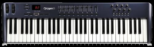 """MIDI клавиатура M-AUDIO Oxygen 61 MKII - Магазин музыкальных инструментов """"Mayak-music"""" в Белой Церкви"""