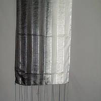 Шаль шёлковая размер 50х180 см