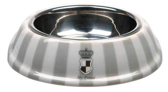 """Trixie TX-25226 миска """"Dog princes town включно"""" для собак Мій принц 0,25 л / д 17 см"""