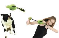 Игрушка для собаки Hagen NERF Trackshot Football Launcher (08277)