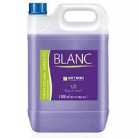 Artero Blanc 5л-тонирующий шампунь для светлой шерсти для собак и кошек  (H649)