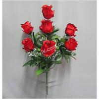 Бутон розы С 42/7 букет искусственный