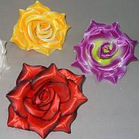 Искусственная Роза большая атлас Цена за уп - 40 шт