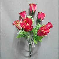 Роза бутон букет искусственный