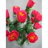 Искусственные цветы Букет Роза ягодка