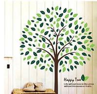 Наклейка виниловая Дерево 3D декор