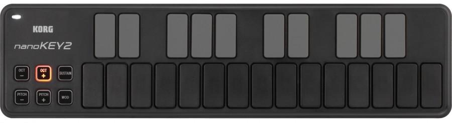 """MIDI клавиатура KORG NANOKEY2 BK - Магазин музыкальных инструментов """"Mayak-music"""" в Белой Церкви"""