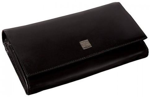 Жіночий гаманець VERUS чорний, шкіряний