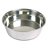Trixie TX-25074 миска металл ,основа резина (2,5л / O 24см)