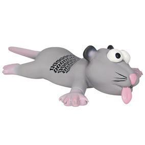 Trixie ТХ-35232 игрушка для собак крыса/мышь с языком (латекс)22см