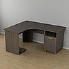 Угловой стол для кабинета 1500*1200*726h