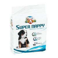 Пеленки для собак CaniAMici Super Nappy 10шт (60*60см)
