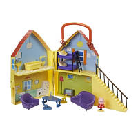 Игровой набор Peppa - ДОМ ПЕППЫ (домик с мебелью, фигурка Пеппы), фото 1