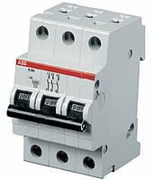Автоматический выключатель ABB S803B-C80  тип C, 80А 3-х полюсной