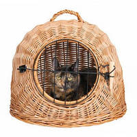 Trixie TX-2871 плетеная корзина переноска для кошек  Ø 50 см