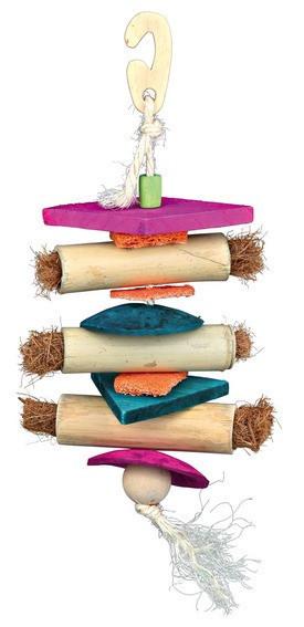 Trixie TX-58970 плетена іграшка для птахів,30см