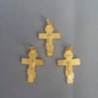 Крестик Кр 7 нательный металлический