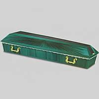 Солнышко атлас гроб оббитый 200х67 см