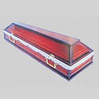 Вишневый гроб лакированный 200х67 см