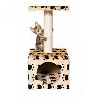Когтеточка,дряпка Trixie TX-43354 домик Zamora  для кота (61см,31*31см)