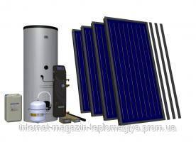 Комплект на 5 коллекторов + отопление HEWALEX 5TLP AC INTEGRA500 (3-8 чел. 500 л)