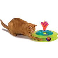 Petstages Музыкальный Трек с мячиком и птичкой-игрушка для кота