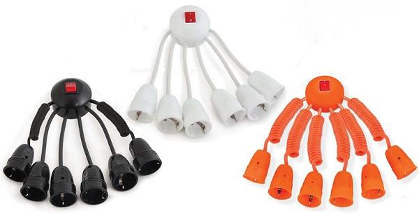 Octopus оригинальный удлинитель на 6 подключений с выключателем
