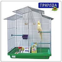 """Клетка Природа """"Нимфа"""" хром для птиц 70 см/40 см/76 см (не разборная)"""
