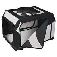 Trixie TX-39722  Vario Box 76 × 48 × 51 см транспортировочный бокс для собак (металлическая рамка)