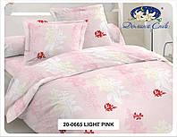 Комплект постельного белья из Сатина Евро - размер