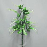 Искусственная нога Каскад на 13 голов с листом высота 65см