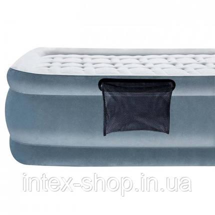 Bestway велюр-кровать 67560 (203*152*43,см) с встроенным насосом 220V, фото 2