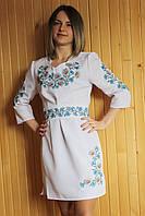 Вышитое платье (005)