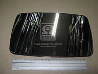Вкладыш зеркала левого на Mercedes Sprinter 1995г.-2006г. без обогрева выпуклый (Tempest)