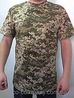 Армейские камуфляжные футболки Пиксель ВСУ 160 г/м2