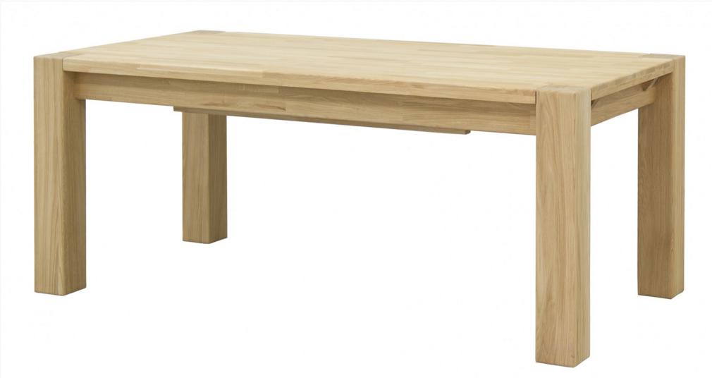 Стол деревянный дубовый раскладной Хилтон