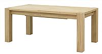 Стол деревянный дубовый раскладной Хилтон  /  Стіл дерев'яний дубовий розкладний Хілтон