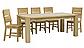 Стол деревянный дубовый раскладной Хилтон  , фото 3
