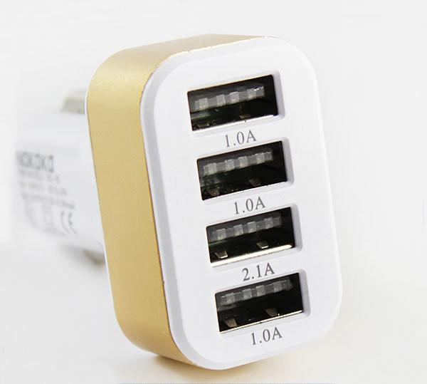 Автомобильное зарядное 4 USB 5.1A