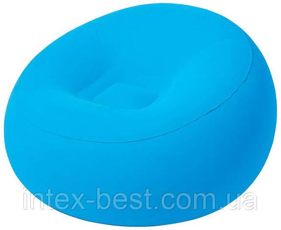 Надувное кресло Bestway 75052 голубой, фото 2