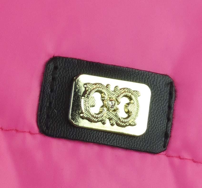 Куртка для девочек  трикотажный рукав 7-10 лет цвет малиновый, фото 2